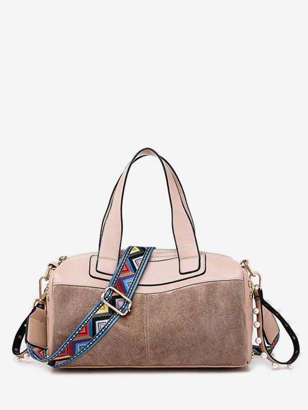 Outfit Contrast Pillow Style Crossbody Bag