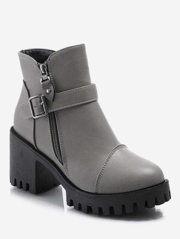 Best Platform Mid Chunky Heel Ankle Boots
