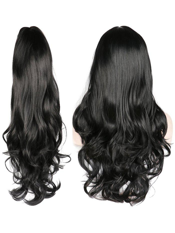 Best Middle Part Wavy Long Capless Party Synthetic Wig