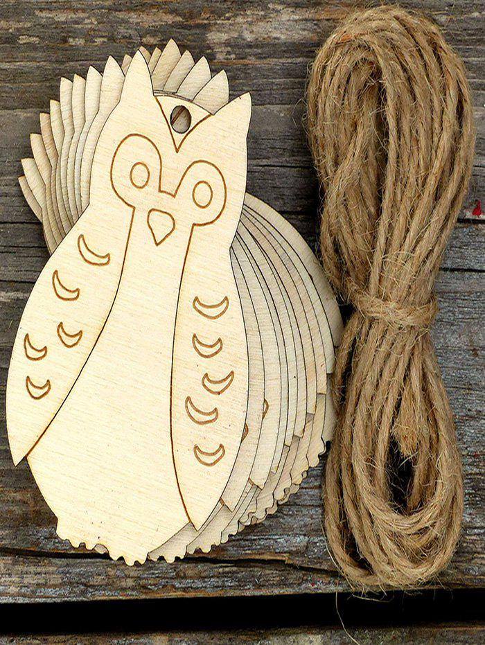 Latest 10PCS Easter DIY Owl Hanging Decorations
