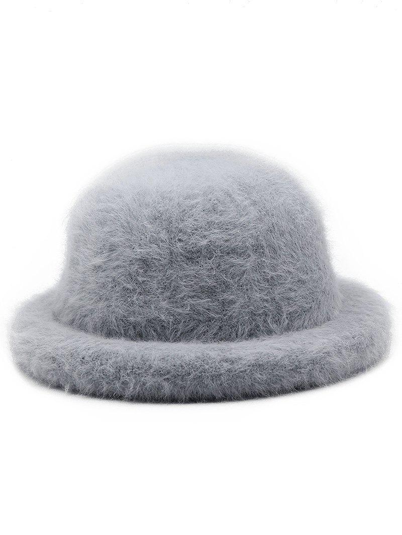Trendy Stylish Winter Fuzzy Bucket Hat 9fdef9748ad