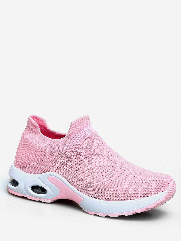 Outfits Slip On Knitted Running Sneakers