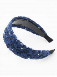 Rhinestone Floral Lace Hair Band -