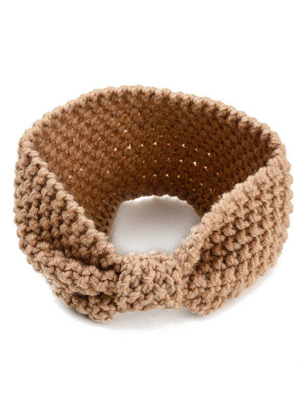 Outfits Crochet Knitted Bowknot Design Hair Band