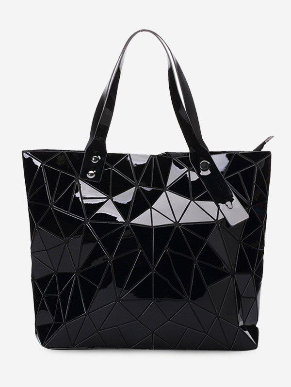 Outfit Geometric Pattern PU Leather Shoulder Bag