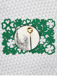1PC Clover Pattern Placemat -