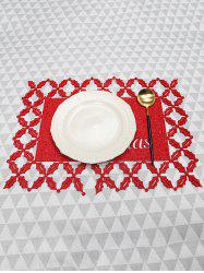 1PC Merry Christmas Pattern Placemat -