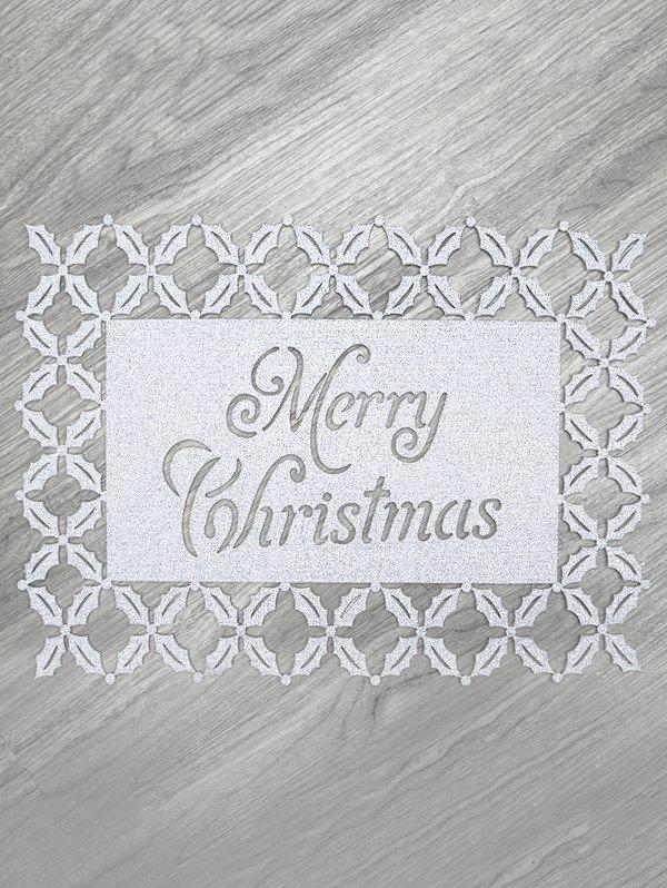 Store 1PC Merry Christmas Pattern Placemat