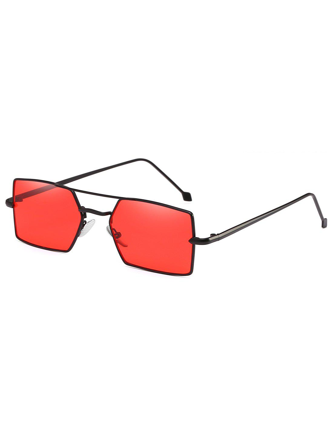 70303d62dc Discount Light Metal Frame Unisex Rectangle Sunglasses
