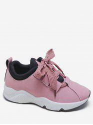 Wide Lace Running Sneakers -