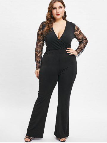 Black Lace Jumpsuit Free Shipping Discount And Cheap Sale