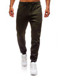 Bottom Gradient Spot Ink Print Sports Jogger Pants -
