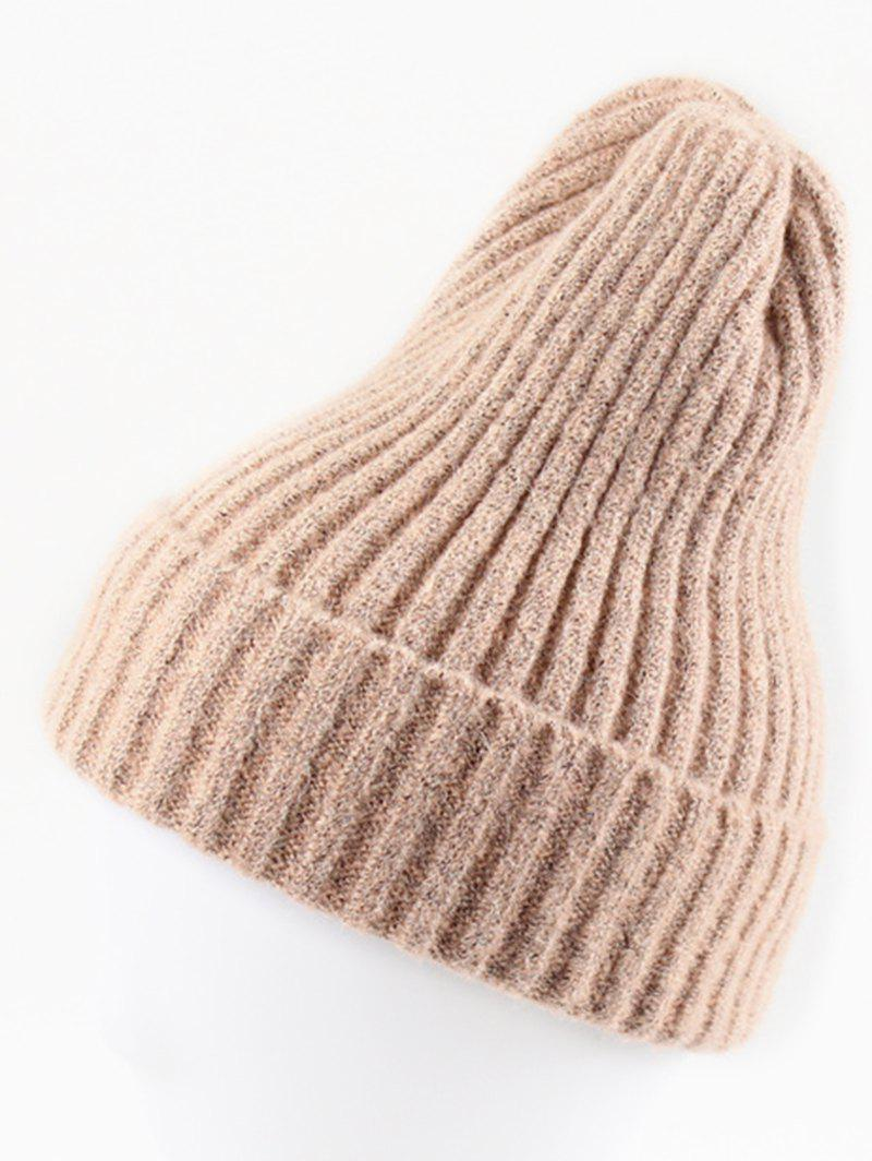 Discount Stylish Winter Flanging Beanie bfbb466ad757