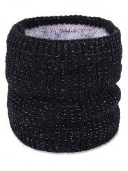 Simple Style Fuzzy Woven Scarf -