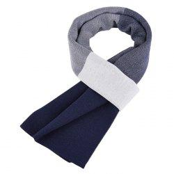 Autumn And Winter New Men's Scarf Europe And The United States High-end Leisure Lattice Skin Thickening Wool Korean Version Of The Warm Scarf -