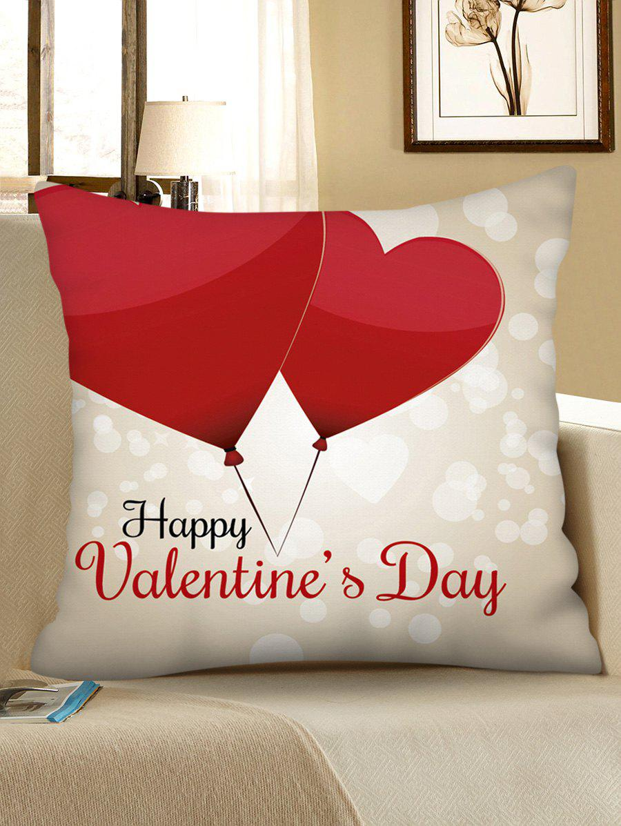New Valentine Love Heart Printed Pillowcase
