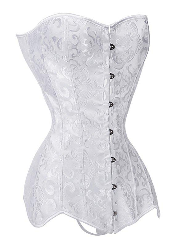 Shops Lace-up Push Up Jacquard Corset