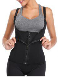 Zip Up Stretch Underbust Corset -