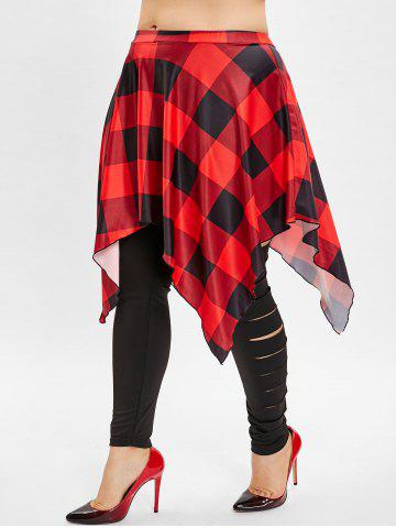 Legging | Plaid | Skirt | Plus | Size