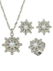 Rhinestone Decoration Alloy Jewelry Sets -