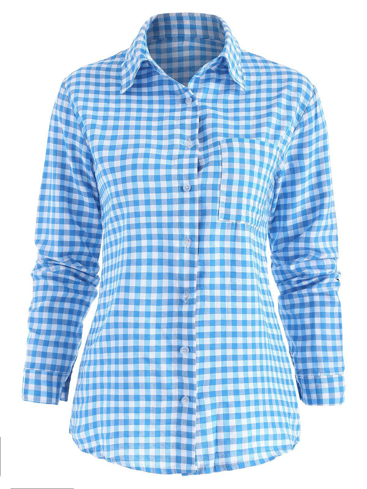 Buy Casual Button Up Checked Shirt