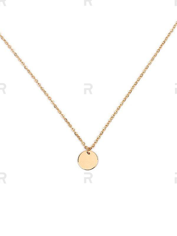 Discount Simple Round Link Chain Necklace