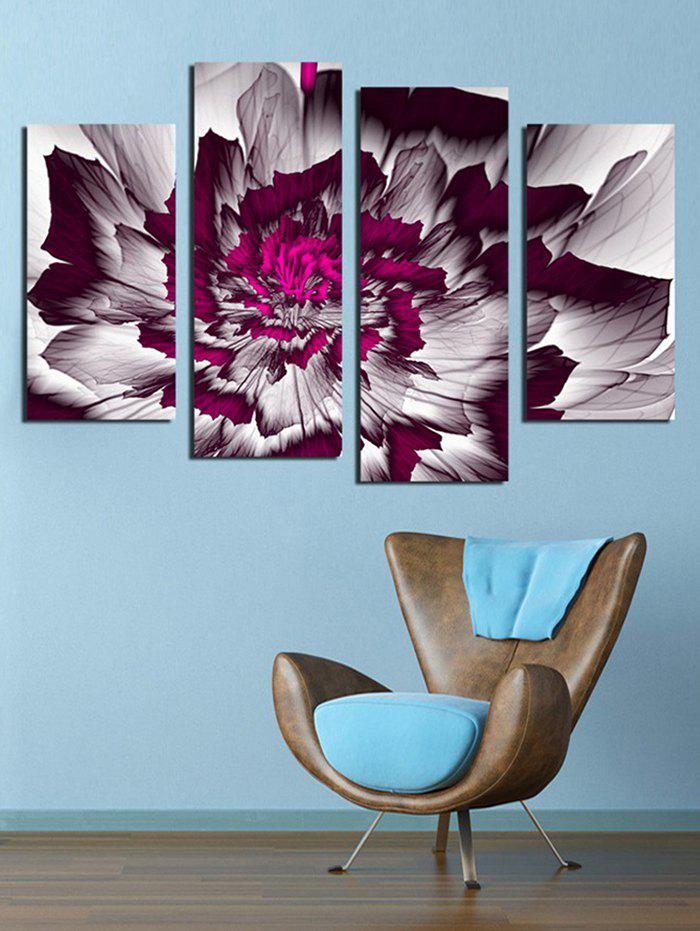 Outfit Split Unframed Blossom Flower Print Canvas Paintings