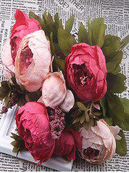 Artificial Flowers Peony Home Decoration -