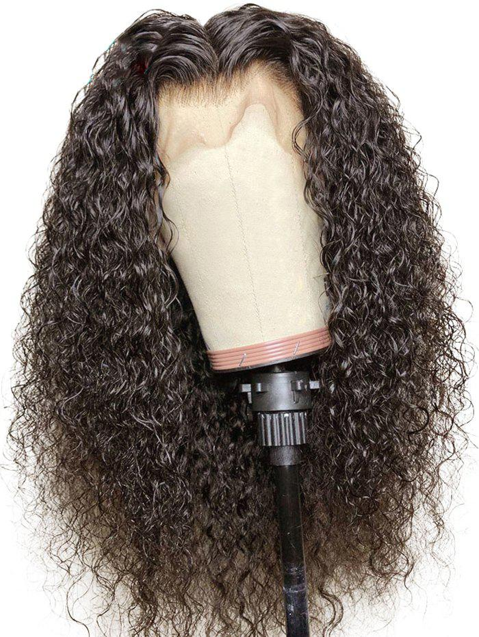 Outfits Center Parting Long Water Curly Synthetic Lace Front Wig