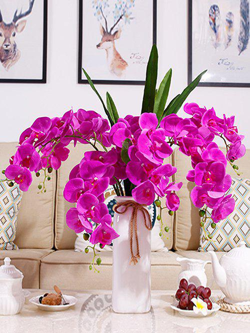 Cheap Home Decoration 5 Pcs Artificial Phalaenopsis Flowers