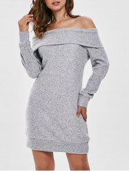 Sweater Mini-Dress -