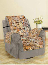 Stone Wall Pattern Couch Cover -
