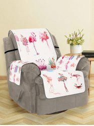 Flamingo Pattern Couch Cover -