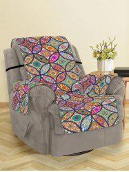 Bohemian Flower Pattern Couch Cover -