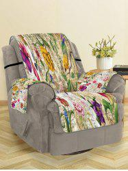 Vintage Flower Pattern Couch Cover -