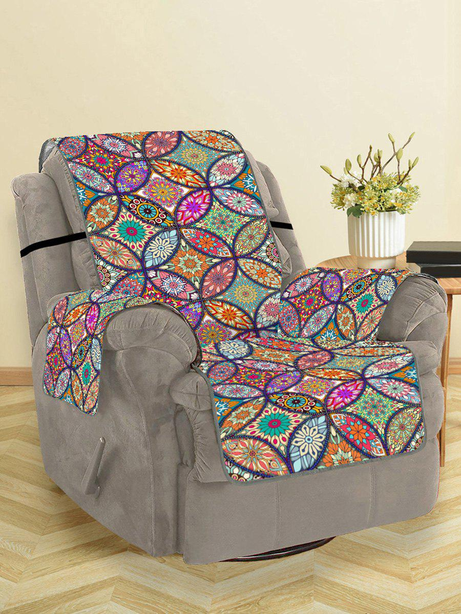 Chic Bohemian Flower Pattern Couch Cover