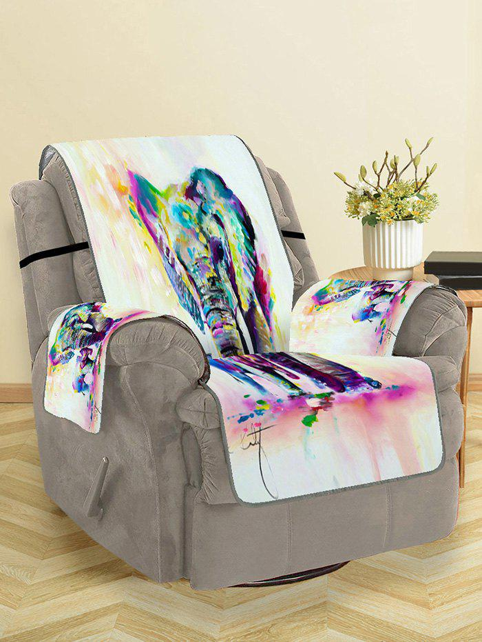 Buy Elephant Pattern Couch Cover