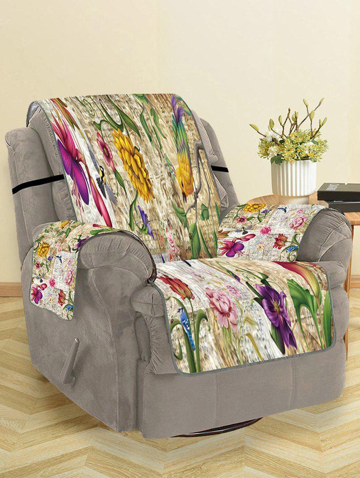 Best Vintage Flower Pattern Couch Cover