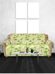 Leaf Pattern Couch Cover -
