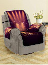 Happy Valentine Day Star Pattern Couch Cover -