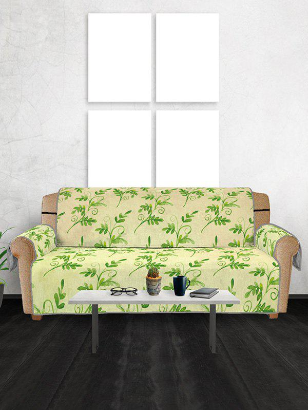 Discount Leaf Pattern Couch Cover