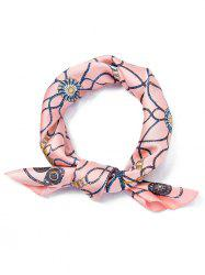 Tassel Pattern Decoration Square Scarf -