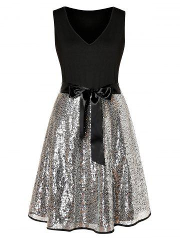 Plus Size Sequin Dress | Black, Red & Long For Plus Size Women | RoseGal