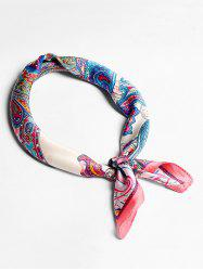 Imitated Silk Paisley Pattern Scarf For Decoration -