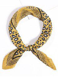 Crinkle Small Square Scarf -