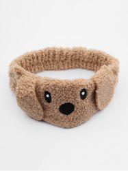 Dog Face Fuzzy Hairband -