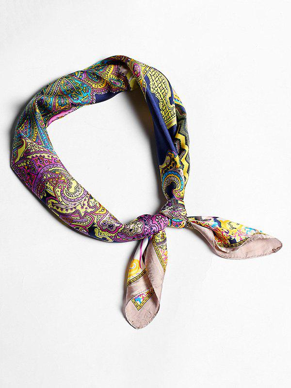 New Imitated Silk Paisley Pattern Scarf For Decoration