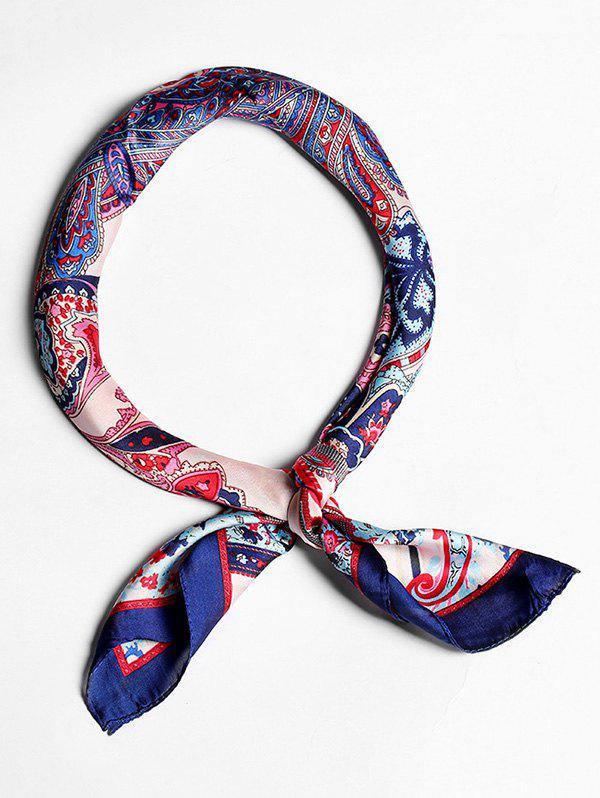 Outfits Imitated Silk Paisley Pattern Scarf For Decoration