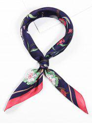 Floral Printed Square Shape Scarf -
