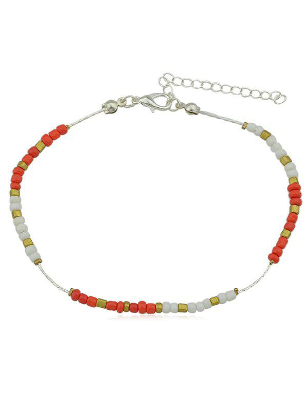 Outfits Bohemia Small Beads Decoration Thin Anklet